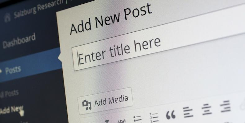 3 steps to start a blog
